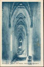 84 - cpa - AVIGNON - Le Palais des Papes - Galerie du Conclave