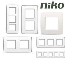 Plaque de recouvrement Niko - Blanc