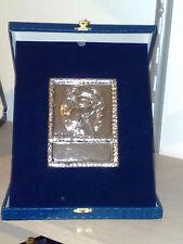 Targa in argento 925 tema IPPICA (Cavalli) (premiazioni sportive)