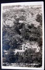 DAVIS OK*1930-40s RPPC* Collin Summer Home Turner Falls