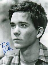 Timothy Hutton Autograph Signed 20x27 cm Picture S/W