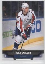 2013-14 Upper Deck No Foil #54 John Carlson Washington Capitals Hockey Card