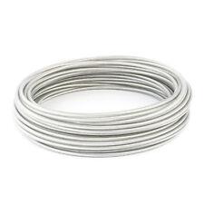 EDELSTAHL DRAHTSEIL PVC Ummantelung Stahlseil Ummantelt 1 2 3 4 5 8mm INOX V4A