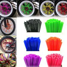36pcs Motorcycle Motocross Wheel Spoke Cover Wrap Kit Skin for Dirt Bike KTM BMW