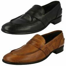 Mens Morena Gabrielli Leather Penny Loafer Slip On Shoes - LV-B2134 Las Vegas