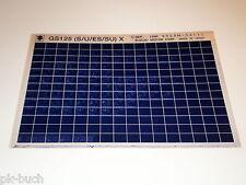 Microfich Ersatzteilkatalog Suzuki GS 125 Stand 09/1998