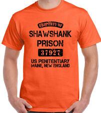 PROPERTY OF shawshank Prisión Hombre Divertido Película Camiseta Redención STAG