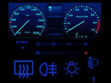 Blauer Tacho LED Komplettset Armaturenbeleuchtung VW Golf 2 Jetta 2 Scirocco