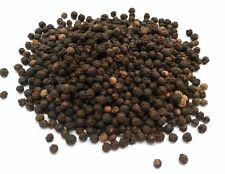 Black Peppercorns Whole & Dried Premium Quality Free P & P