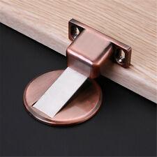 Stainless Steel Strong Magnetic Door Stop Floor Mount Self Adhesive Door Stopper