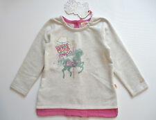 1/2 PREIS REDUZIERT Pezzo D'oro Sweatshirt Shirt Mädchen Gr.86-104 UVP 39,95 NEU