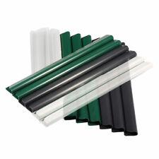 PVC Befestigungsclips Klemmschienen für Sichtschutzstreifen Anthrazit GrauGrün