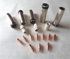 MIG/MAG Set Original Binzel Gasdüsen/ M8 Stromdüsen/ Gasverteiler Typ MB 36