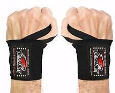 Peso Sollevamento Polso wraps bandage Mano Supporto Brace Palestra Cinghie di cotone