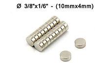 "10mmx4mm Super Strong Neodymium Disc Magnets - 10x4mm - 3/8""x1/6"" Fridge Magnet"