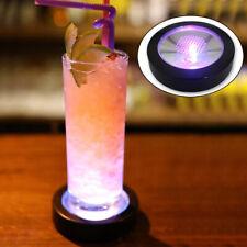 New listing Cup Mat Round Shape Coaster Led Illumination Gravity Sensor Table Decoration
