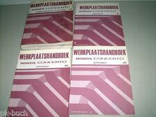 Werkstatthandbuch Werkplaatshandboek Honda Concerto ( 4 Bände ) ab Bauj. 1990