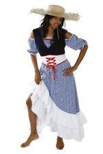 Ladies fancy dress a Farmer'S wife Farmer costume For Women S–L Farmer Maid new