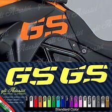 2 Adesivi Fianco Serbatoio Moto BMW F 800 GS adventure19 colori