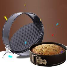 7/8/9 Inch Non Stick Spring Form Round Cake Baking Bake Tin Tray Pan Bakeware US