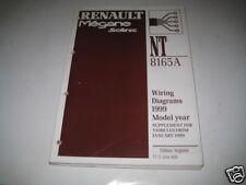 Workshop Manual electrical Wiring Diagram Renault Megane Scenic ab 01/1999