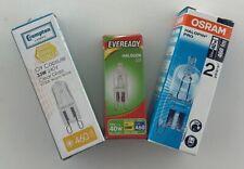 Pack of 10 Branded G9 33W Eveready or Crompton or Osram 240V 33 Watt = 40 Watt