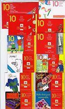 1989-1998 All the Greetings Booklets Multi listing FY1,KX1,KX2,KX3,KX3a,KX4,KX5