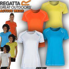 Regatta T Shirt Womens Virda Hiking Running Cycling Gym Work Walk Sport Yoga Top