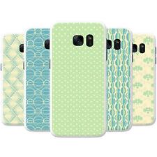 Pastel Yellow Blue Green Patterns Hard Case Phone Cover for Motorola Phones