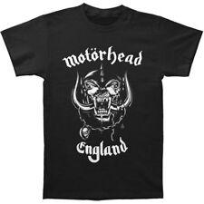 MOTORHEAD England T-Shirt Lemmy War Pig Logo Rock Metal S-2XL BAND BLACK TEE