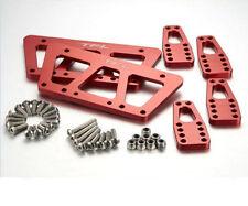 #1504 1Set CNC Aluminum SCX10 Chassis Adjustable mount Set for AXIAL SCX10