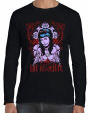 La Muerte Day Of The Dead Skull Long Sleeve T-Shirt - Goth Emo Tattoo