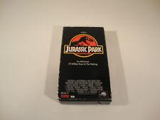 Jurassic Park VHS Classic Movie Film Adventure Dinosaur