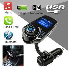 Car Kit Handsfree Wireless Bluetooth FM Transmitter USB MP3 Player LCD Modulator