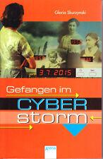 Skurzynski, Gloria – Gefangen im Cyberstorm – spannende SF-Erzählung – Mängelex.