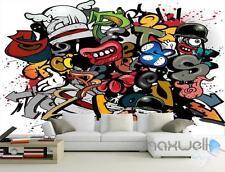 3D Graffiti Picture Wall Paper Art Murals Print Decals Decor Wallpaper