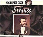 The Best of Johann Strauss (CD, Aug-1994, 4 Discs, Madacy)