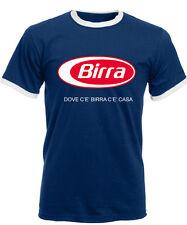 T-SHIRT UOMO dove c'è BIRRA c'è casa PARODIA PUBBLICITà maglietta divertente !