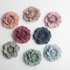 10pcs 5cm Mini Suede Rose Artificial Flower Head for DIY Wedding Home Decoration