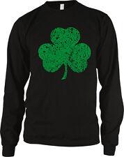 Irish Shamrock Clover Lucky Charm St Patricks Day Long Sleeve Thermal