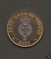 Collezionismo Moneta Numismatica Monarchia Savoia 2000