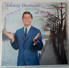Johnny Desmond Dreams of Paris L70061 Lion Vinyl Record Hi-Fi LP