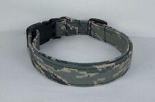 ABU TIGER STRIPE DIGITAL Camo AF Military fabric Dog Collar handmade adjustable