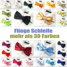FLIEGE Schleife UNISEX Damen Herren Teens verstellbar über 30 Farben
