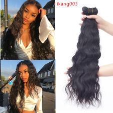 Brazilian Virgin Human Hair Natural Weave 3 Bundles 100% Human Hair Extentions