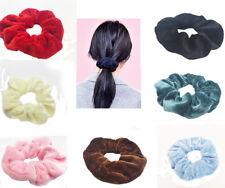 Haargummi  Samt Zopfband Pferdesschwanz Haarband Scrunchie (OWA)