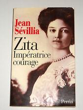 ZITA 1892-1989 de Bourbon-Parme Impératrice d'Autriche reine de Hongrie & Bohême
