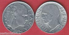 I3, ITALIA ITALY V. EMANUELE III 20 CENTESIMI IMPERO 1942, KM 75b, QFDC / AUNC
