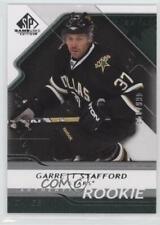 2008 SP Game Used Edition #124 Garrett Stafford Dallas Stars Rookie Hockey Card