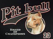 T-Shirt #497 PITT BULL BREED OF CHAMPIONS, Dog, Hund Katze Maus
